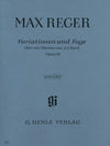 Reger: Variations and Fugue on a Theme by Bach, Op. 81