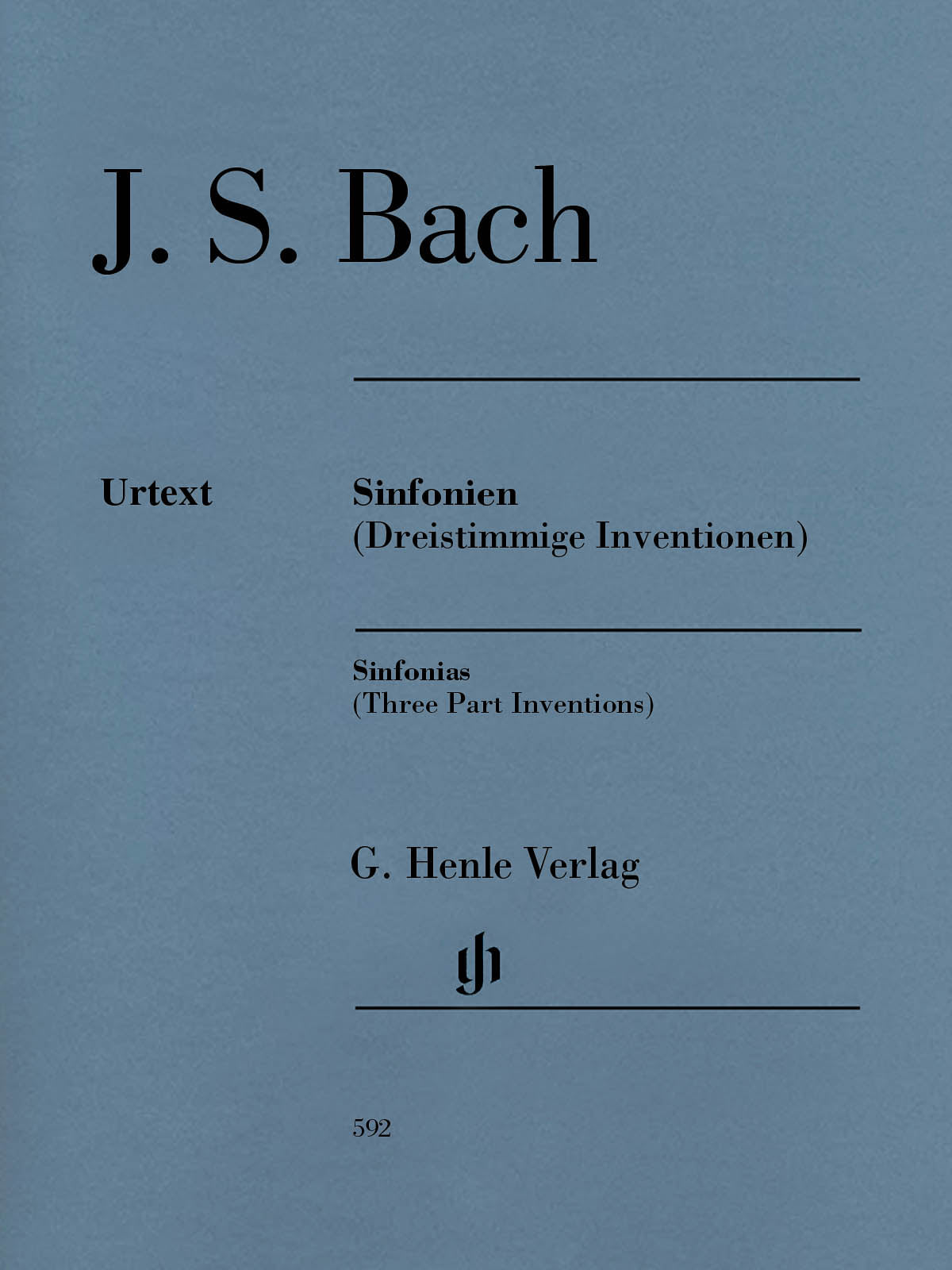 Bach: Sinfonias (Three-Part Inventions), BWV 787-801
