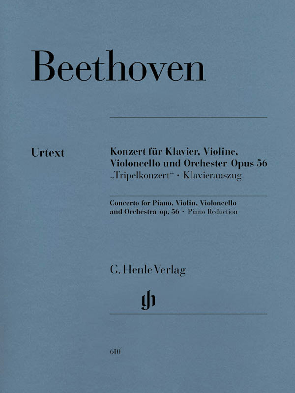 Beethoven: Triple Concerto in C Major, Op. 56