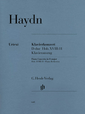 Haydn: Piano Concerto in D Major, Hob. XVIII:11