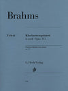 Brahms: Clarinet Quintet in B Minor, Op. 115