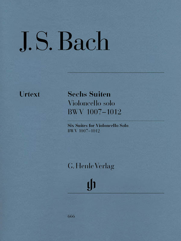 Bach: 6 Cello Suites, BWV 1007-1012