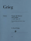 Grieg: Violin Sonata in C Minor, Op. 45