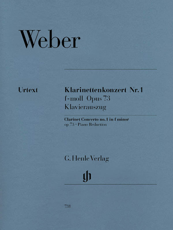 Weber: Clarinet Concerto No. 1 in F Minor, Op. 73