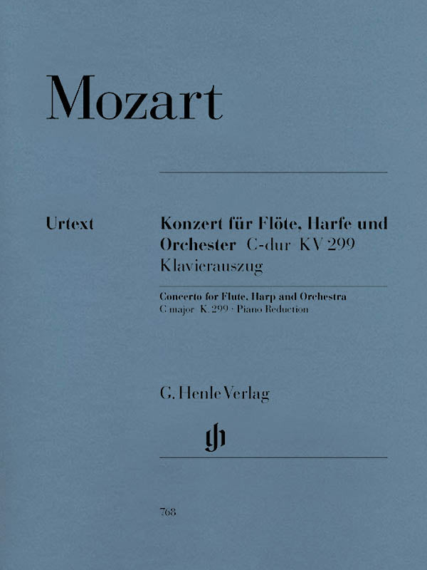 Mozart: Concerto for Flute, Harp and Orchestra, K. 299 (297c)
