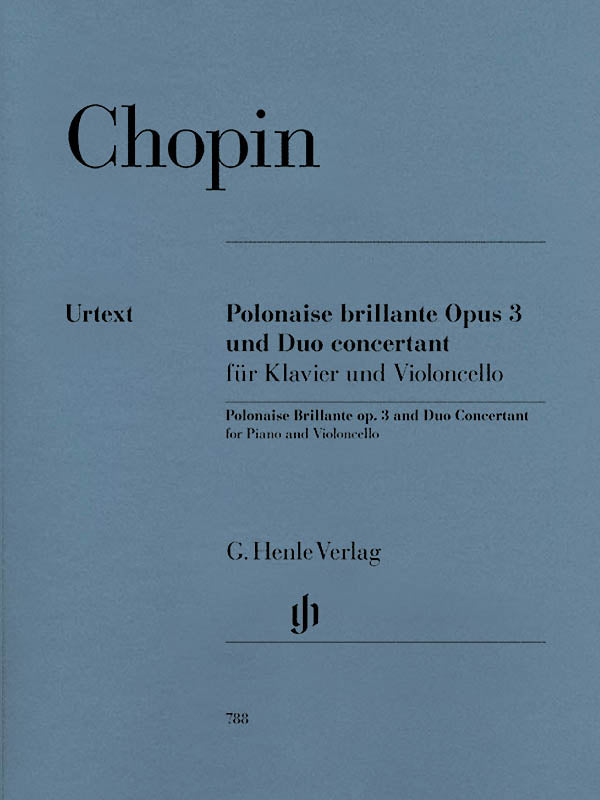 Chopin: Polonaise brillante, Op. 3 and Duo concertant
