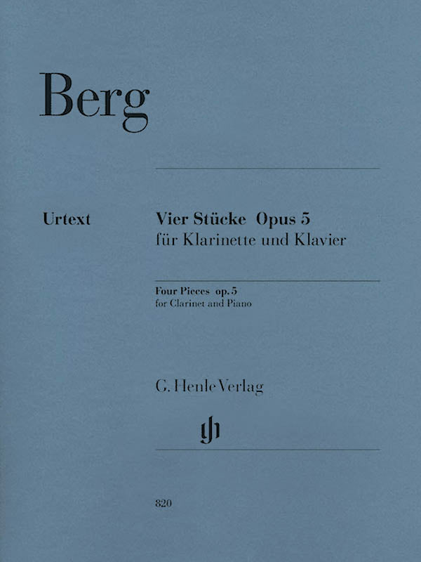 Berg: Four Pieces, Op. 5