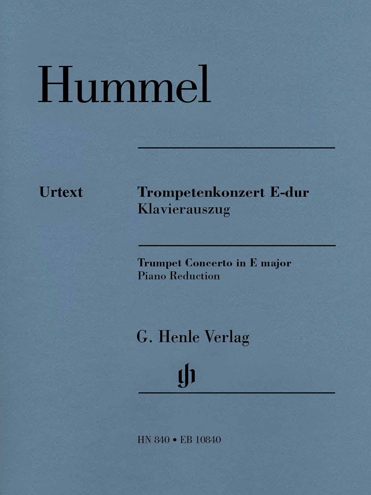 Hummel: Trumpet Concerto in E Major