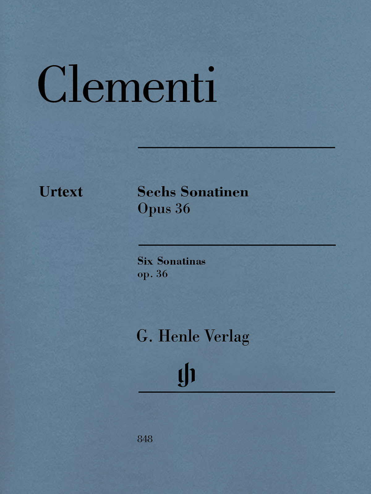 Clementi: 6 Sonatinas, Op. 36