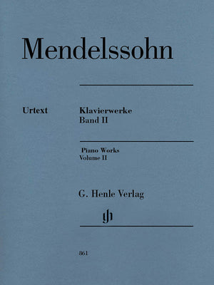 Mendelssohn: Piano Works - Volume II