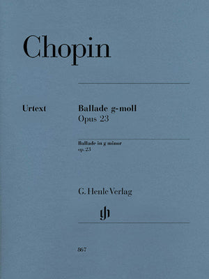 Chopin: Ballade in G Minor, Op. 23
