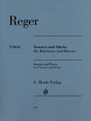 Reger: Clarinet Sonatas and Pieces