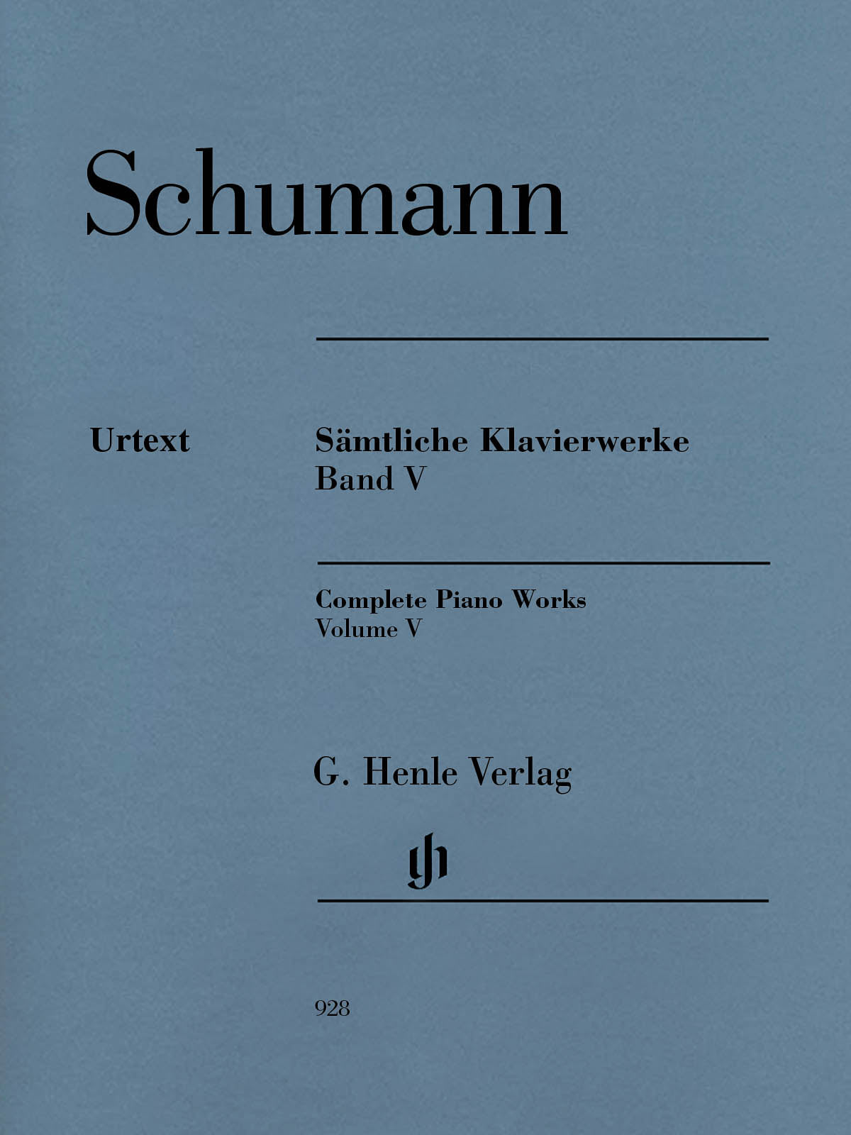 Schumann: Complete Piano Works - Volume 5