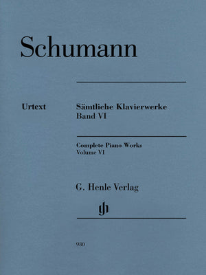 Schumann: Complete Piano Works - Volume 6