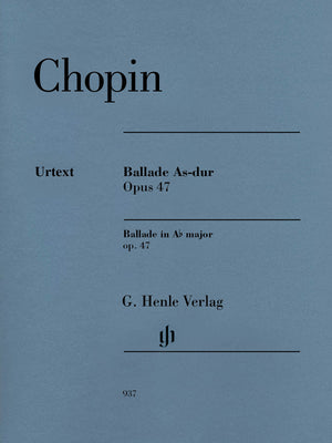 Chopin: Ballade in A-flat Major, Op. 47