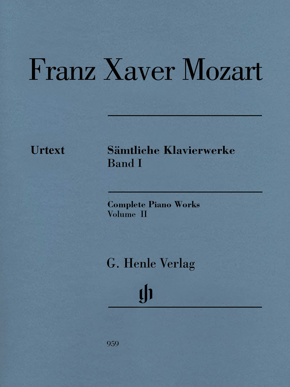 F. X. Mozart: Complete Piano Works - Volume 2