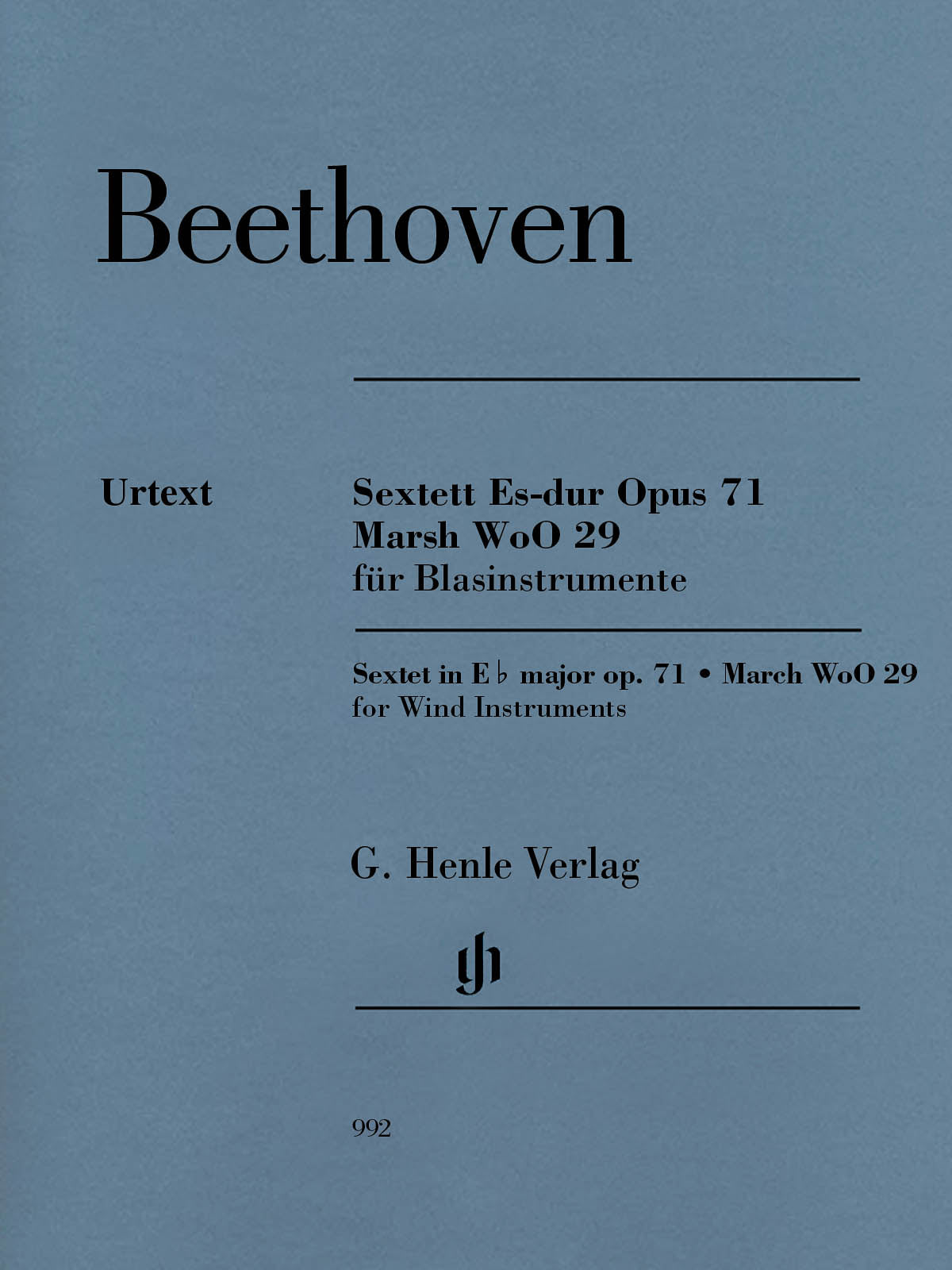 Beethoven: Sextet in E-flat Major, Op. 71 and March, WoO 29