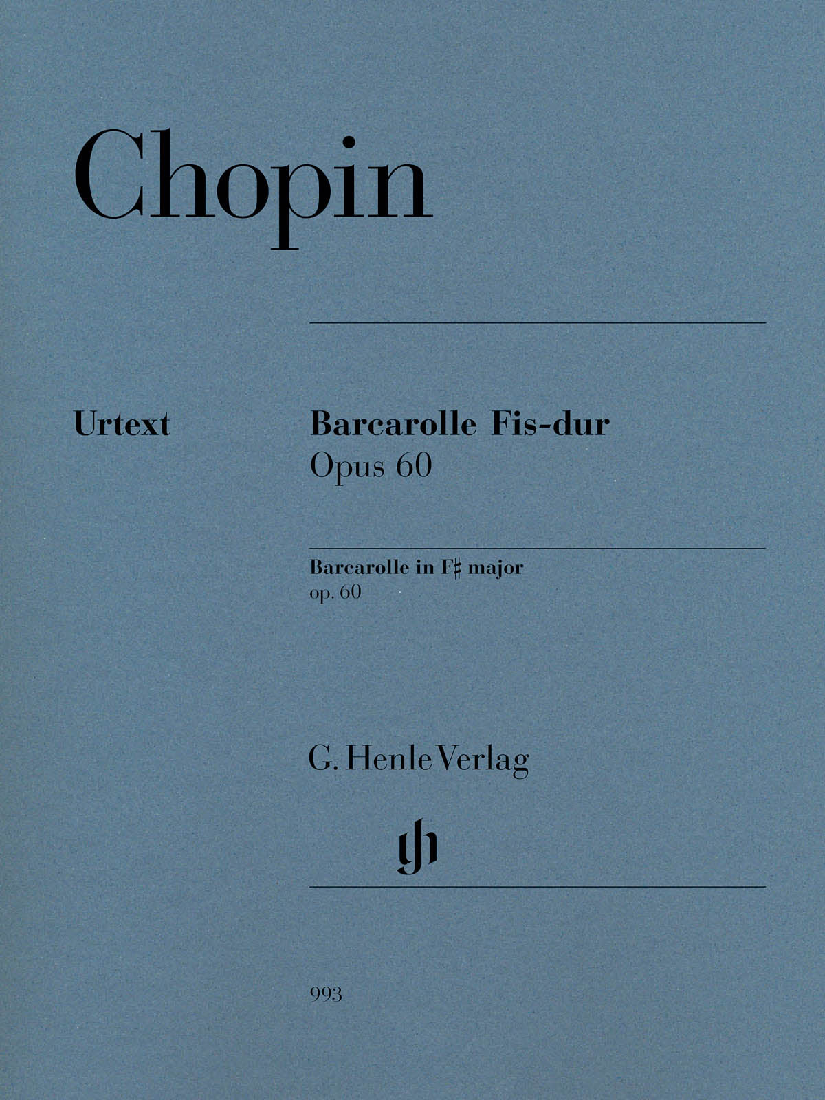 Chopin: Barcarolle in F-sharp Major, Op. 60
