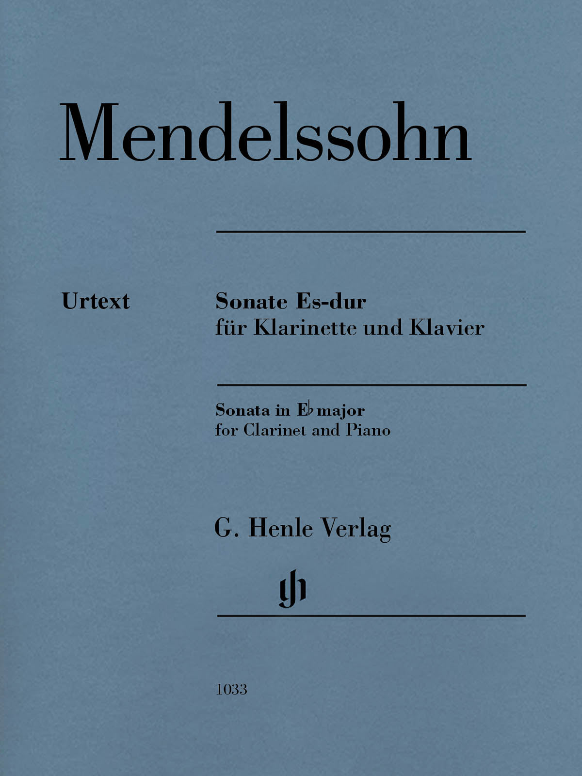 Mendelssohn: Clarinet Sonata in E-flat Major