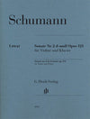 Schumann: Violin Sonata No. 2 in D Minor, Op. 121