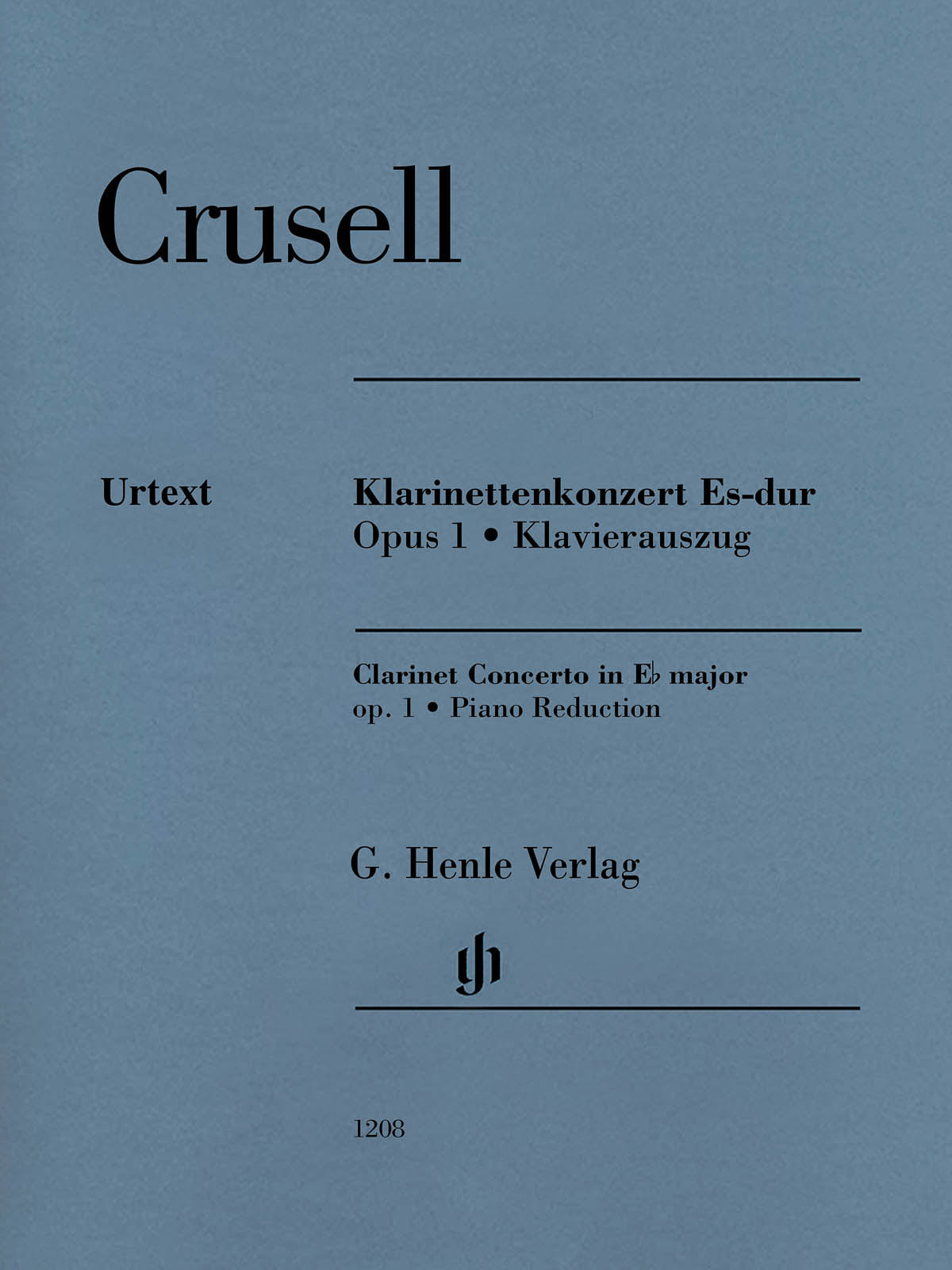 Crusell: Clarinet Concerto in E-flat Major, Op. 1