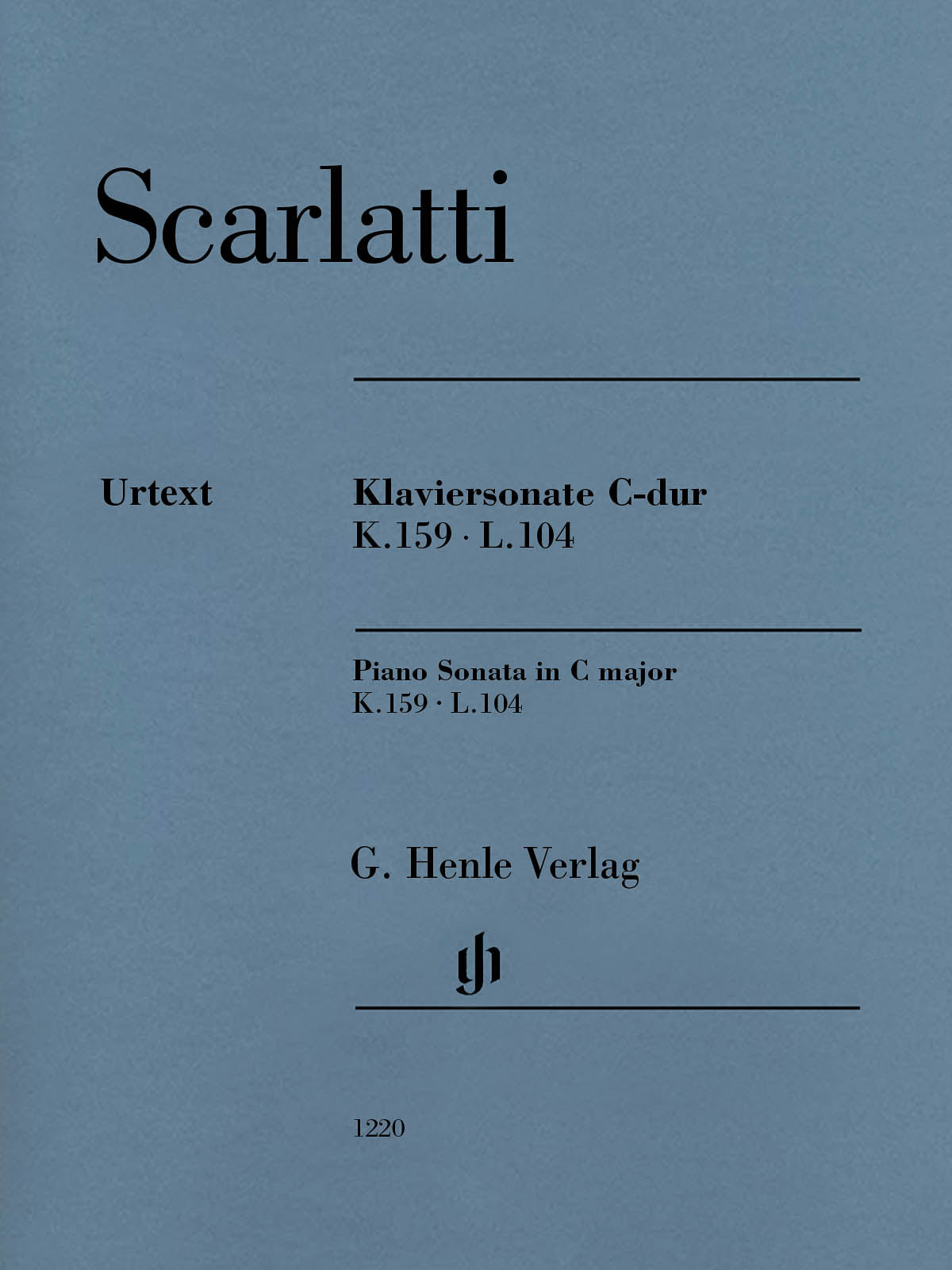 Scarlatti: Piano Sonata in C Major K. 159, L. 104