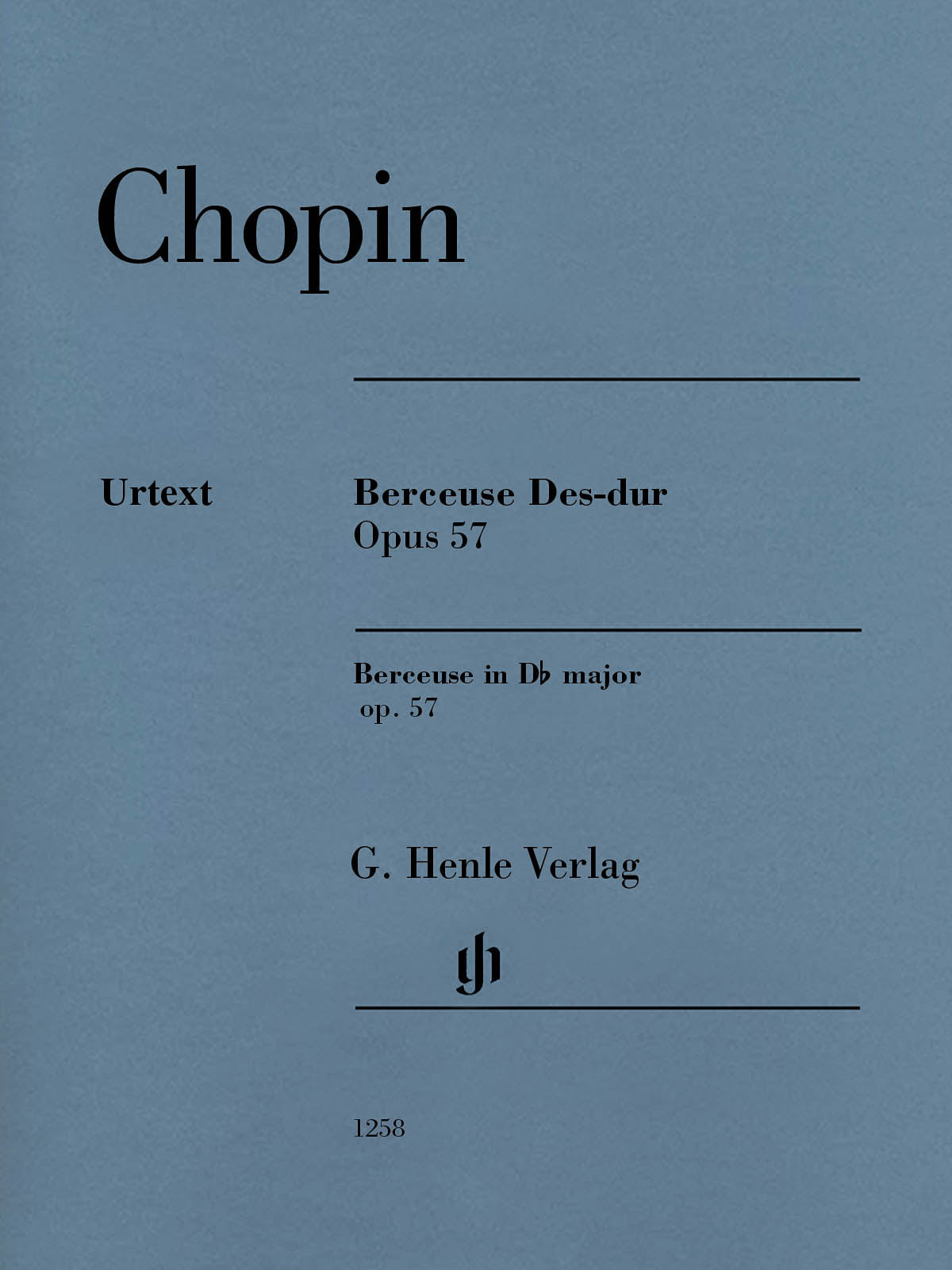 Chopin: Berceuse in D-flat Major, Op. 57