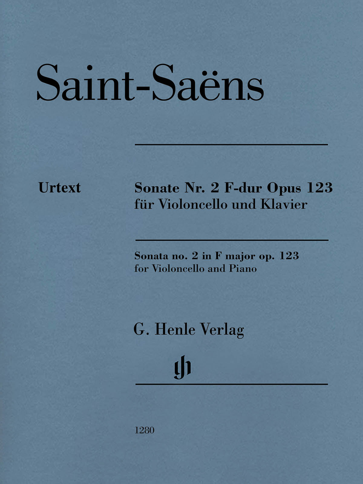 Saint-Saëns: Cello Sonata No. 2 in F Major, Op. 123