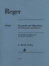 Reger: Tarantella and Album Leaf