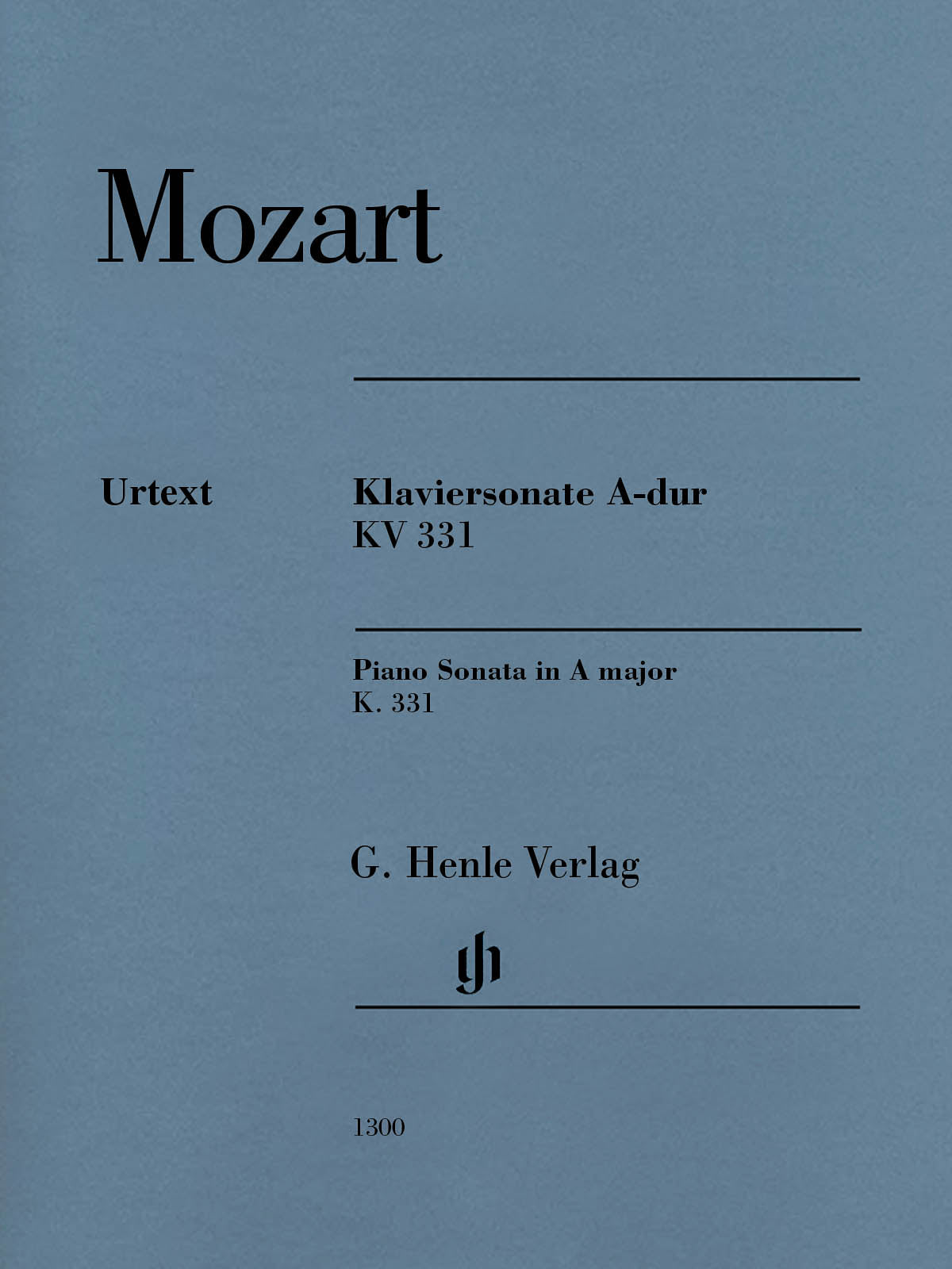 Mozart: Piano Sonata in A Major, K. 331 (300i)