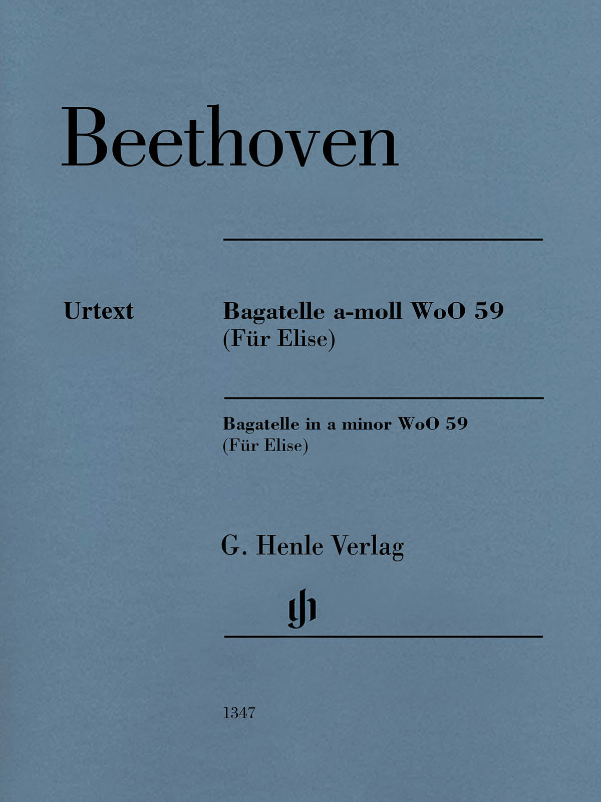 Beethoven: Bagatelle in A Minor, WoO 59 (Für Elise)