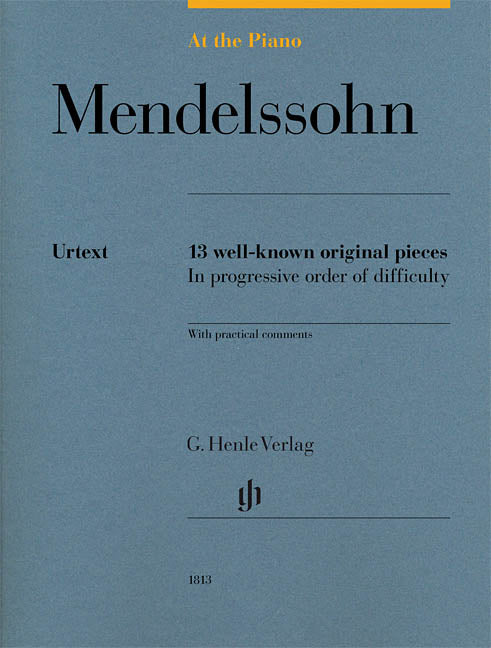 Mendelssohn: At the Piano
