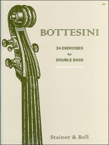 Bottesini: 24 Exercises for Double Bass
