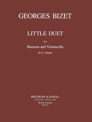Bizet: Little Duet for Bassoon and Cello