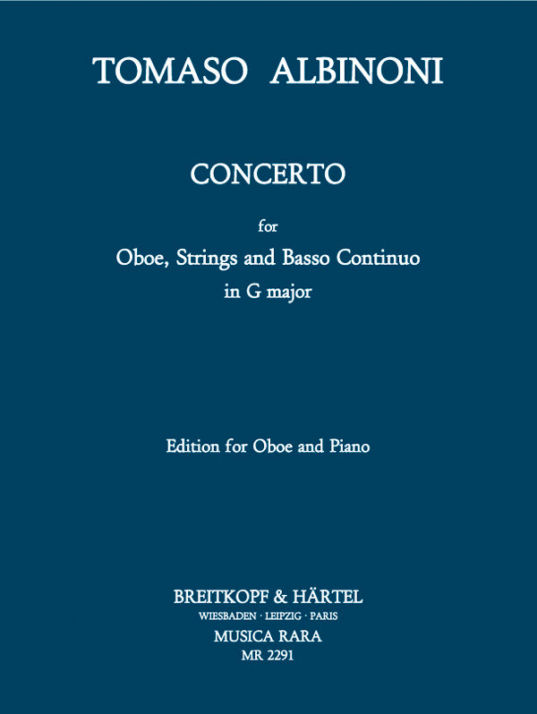 Albinoni: Oboe Concerto in G Major