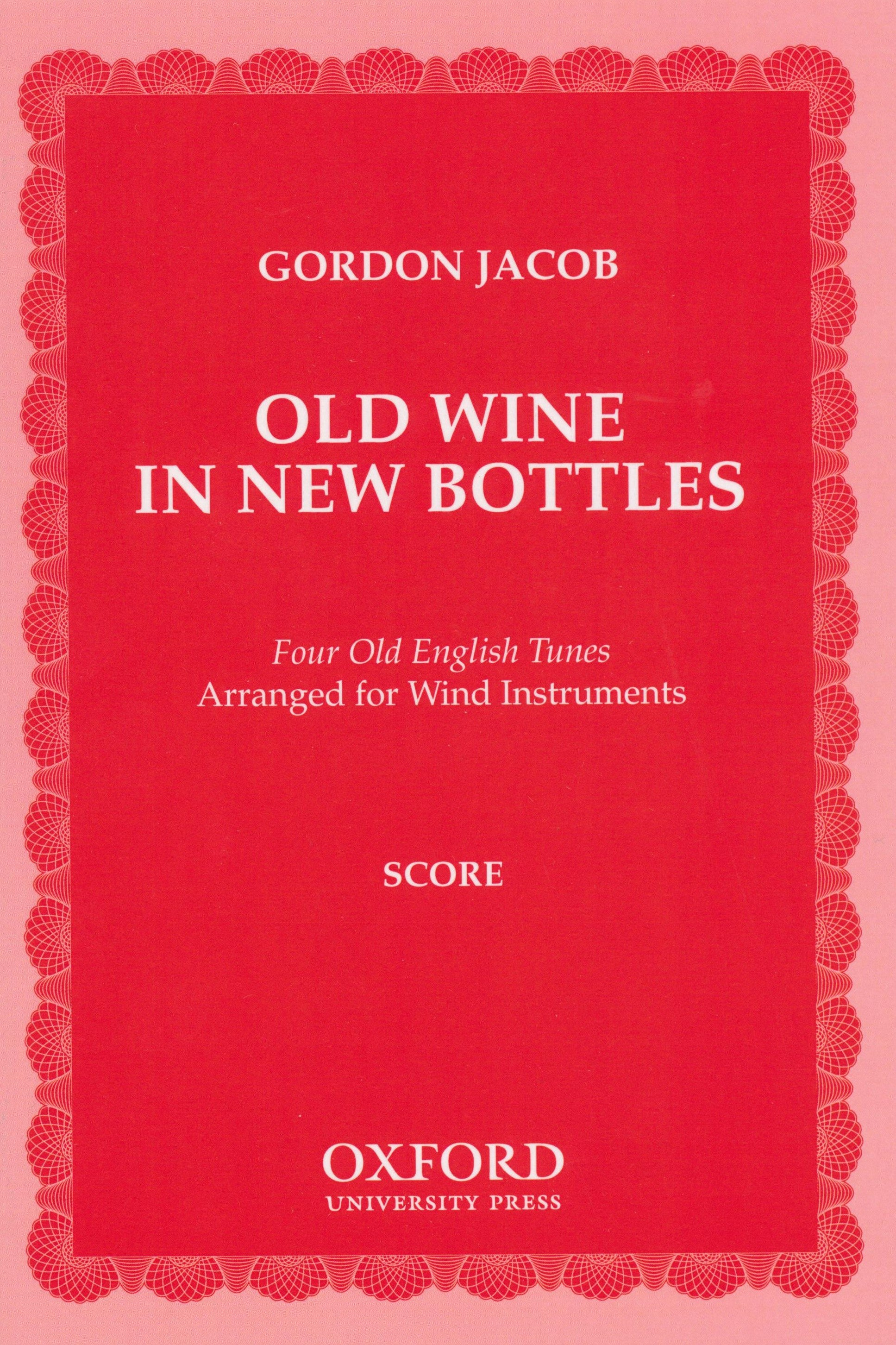 Jacob: Old Wine in New Bottles
