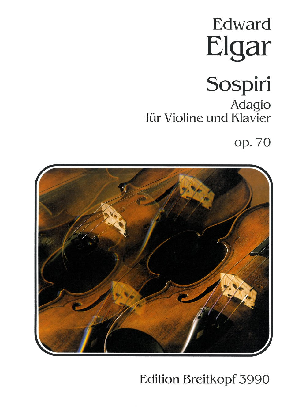 Elgar: Sospiri, Op. 70 (arr. for violin)