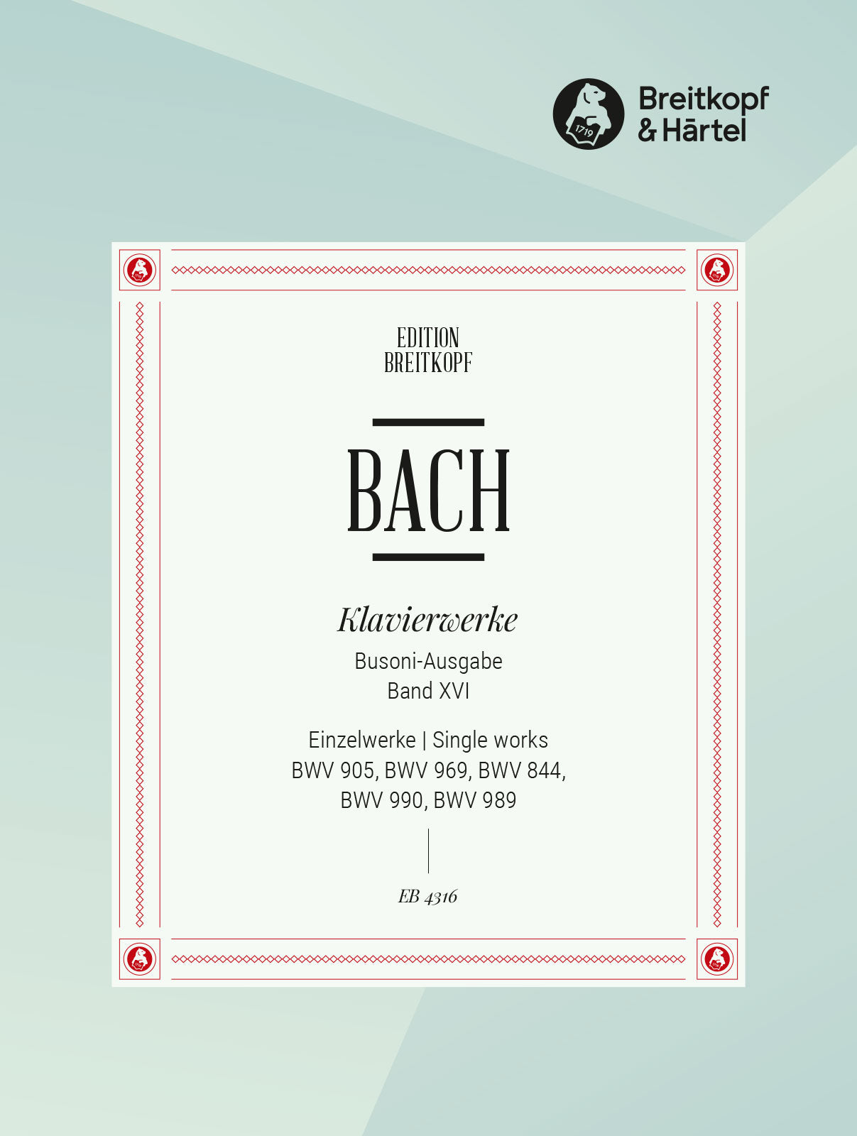Bach: Works with Variations