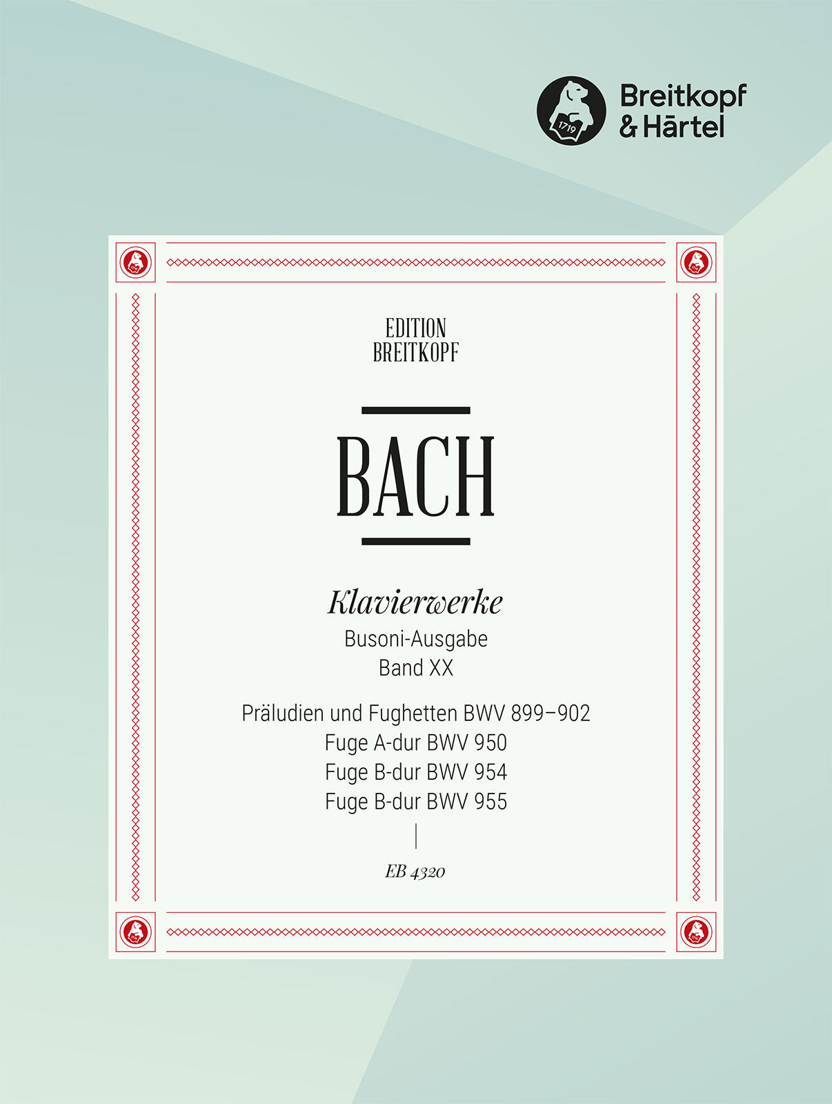 Bach: Preludes and Fugues - Part 2