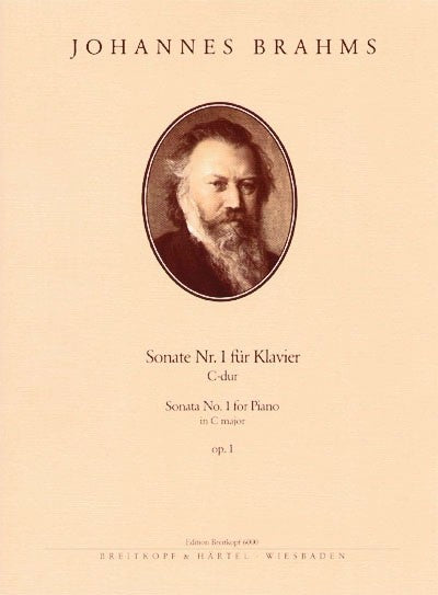 Brahms: Piano Sonata in C Major, Op. 1
