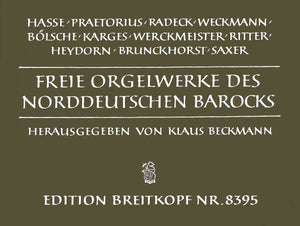 Free Organ Works of North German Baroque
