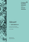 Mozart: Missa brevis in D Major, K. 194 (186h)