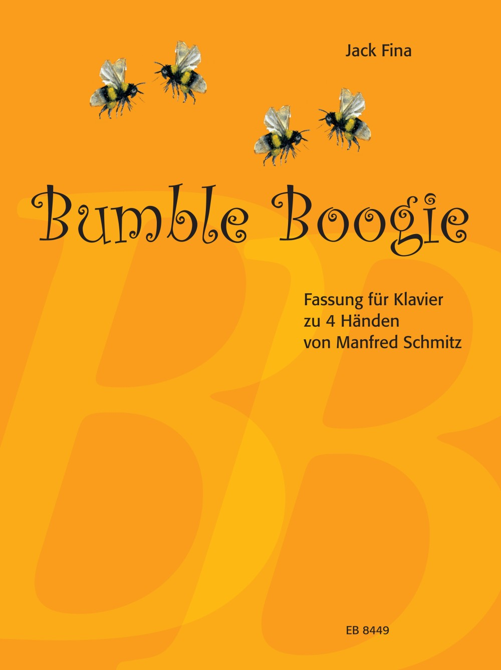 Fina: Bumble Boogie (arr. for piano, 4-hands)