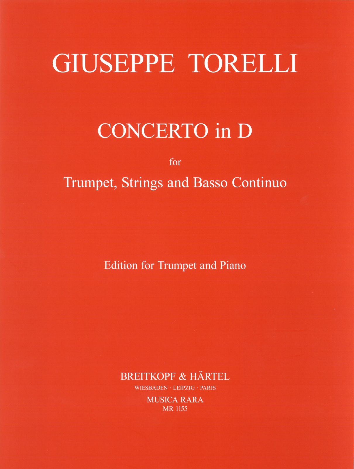 Torelli: Trumpet Concerto in D Major