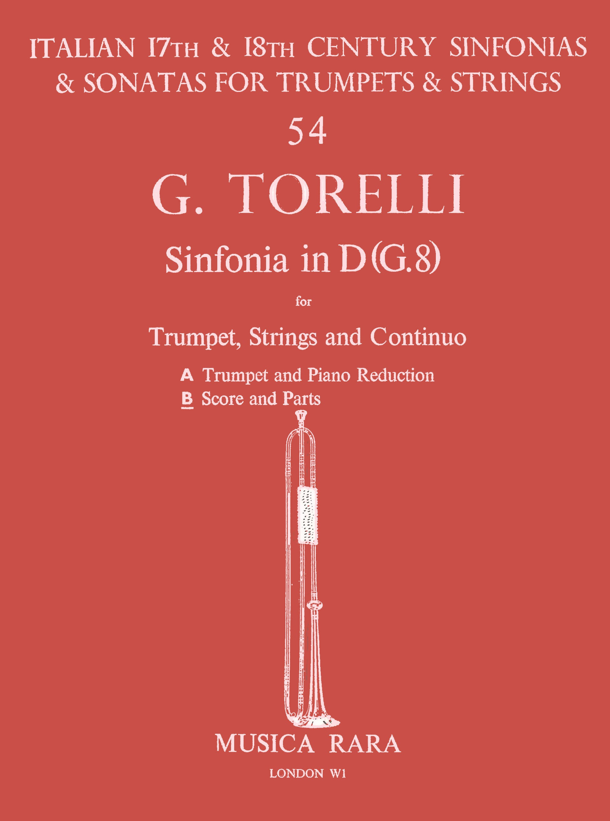 Torelli: Sinfonia in D Major, G. 8