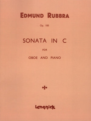 Rubbra: Oboe Sonata in C Major, Op. 100