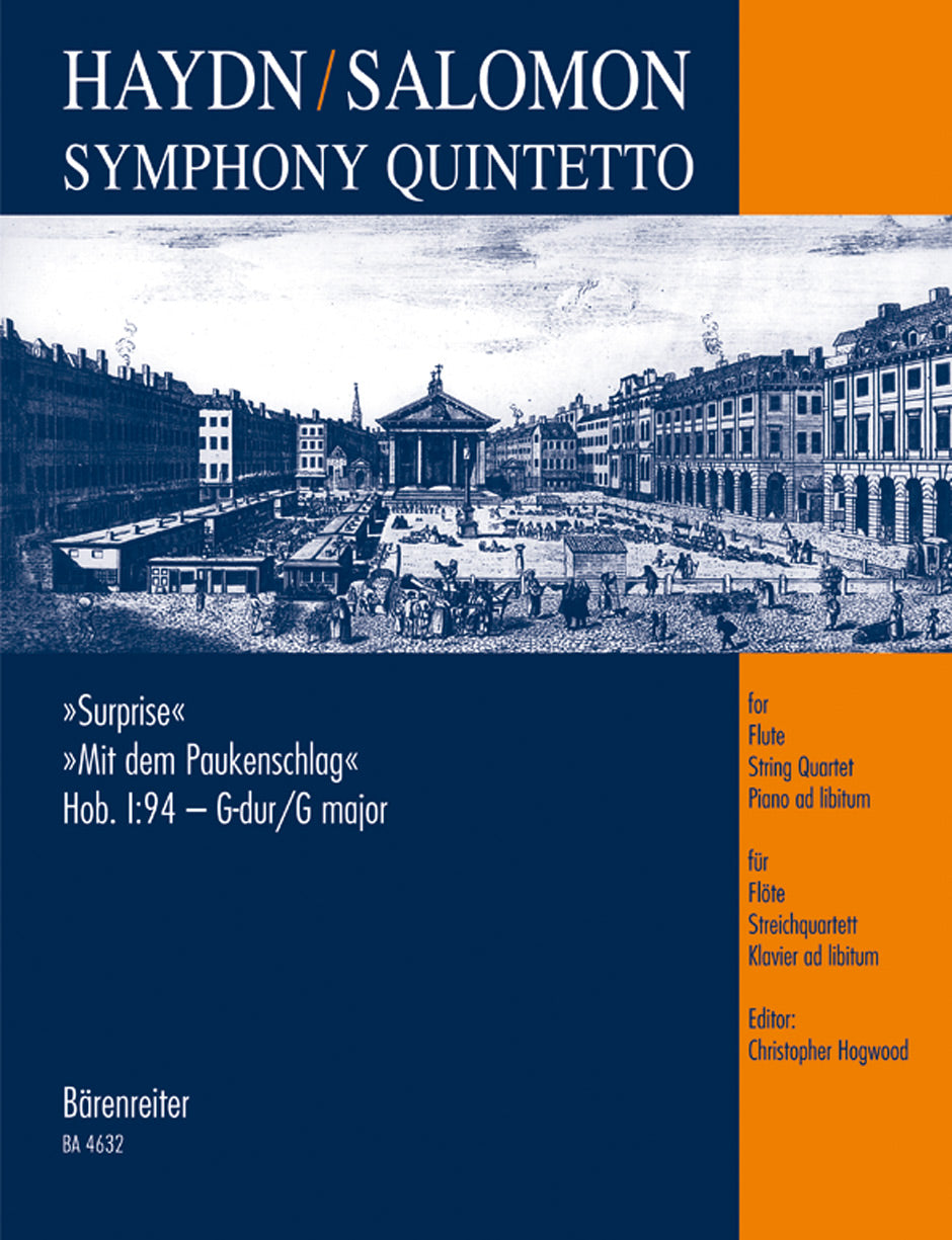 "Haydn-Salomon: Symphony Quintetto based on ""Surprise"" Symphony, Hob.I:94"