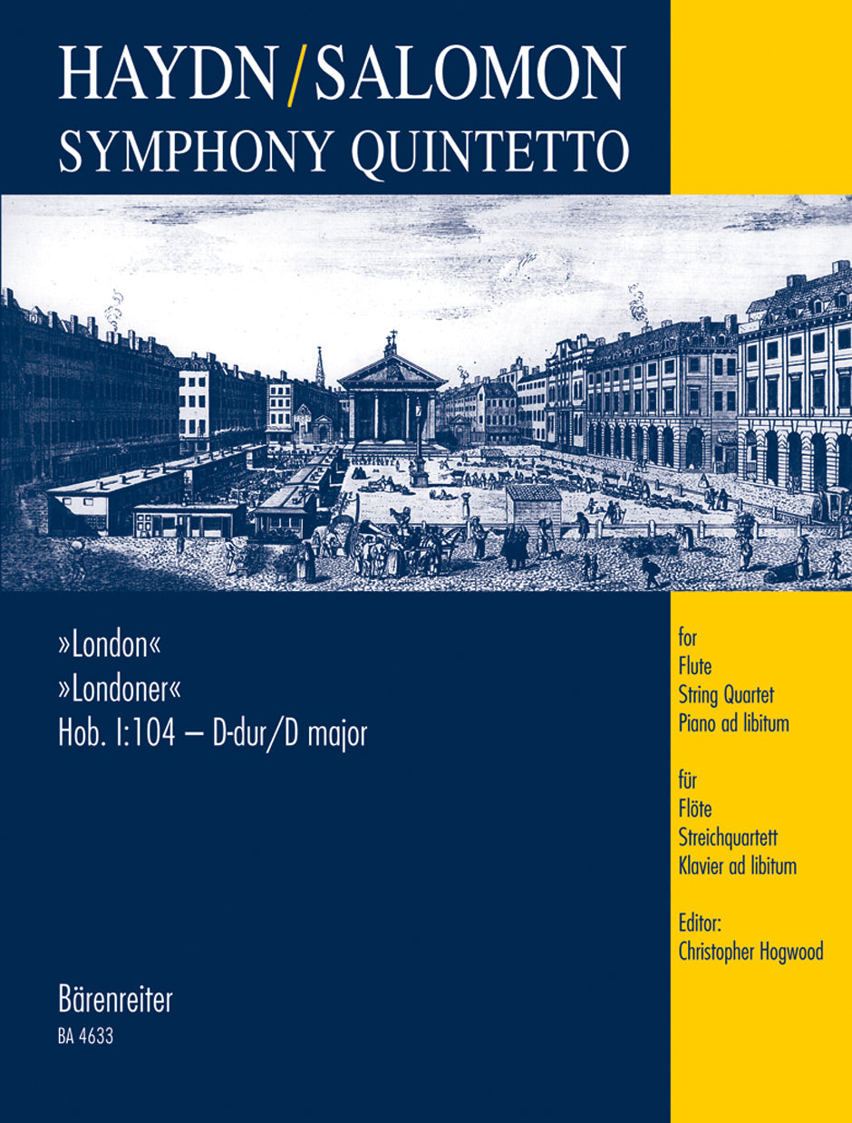 "Haydn-Salomon: Symphony Quintetto based on ""London"" Symphony No. 12, Hob.I:104"