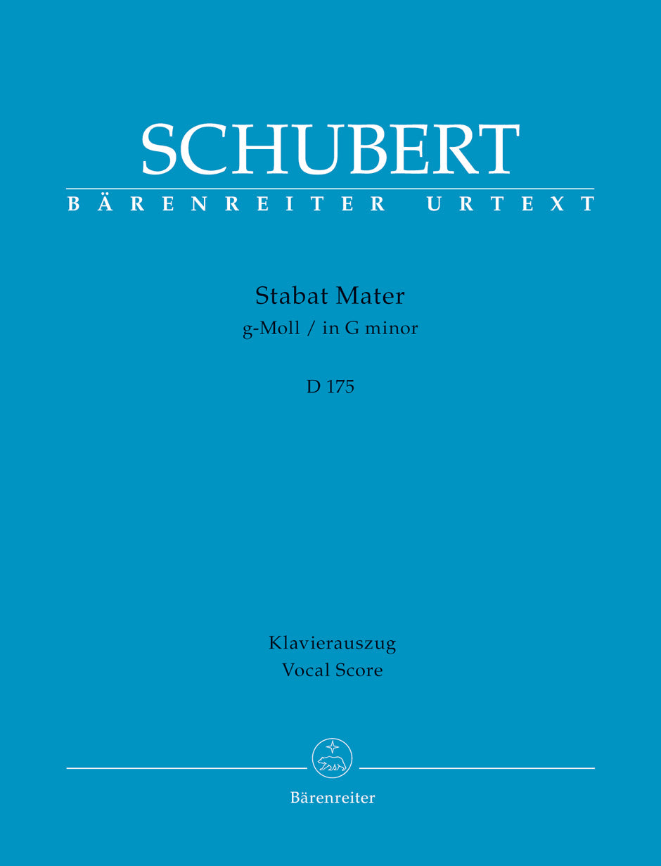 Schubert: Stabat Mater in G Minor, D 175