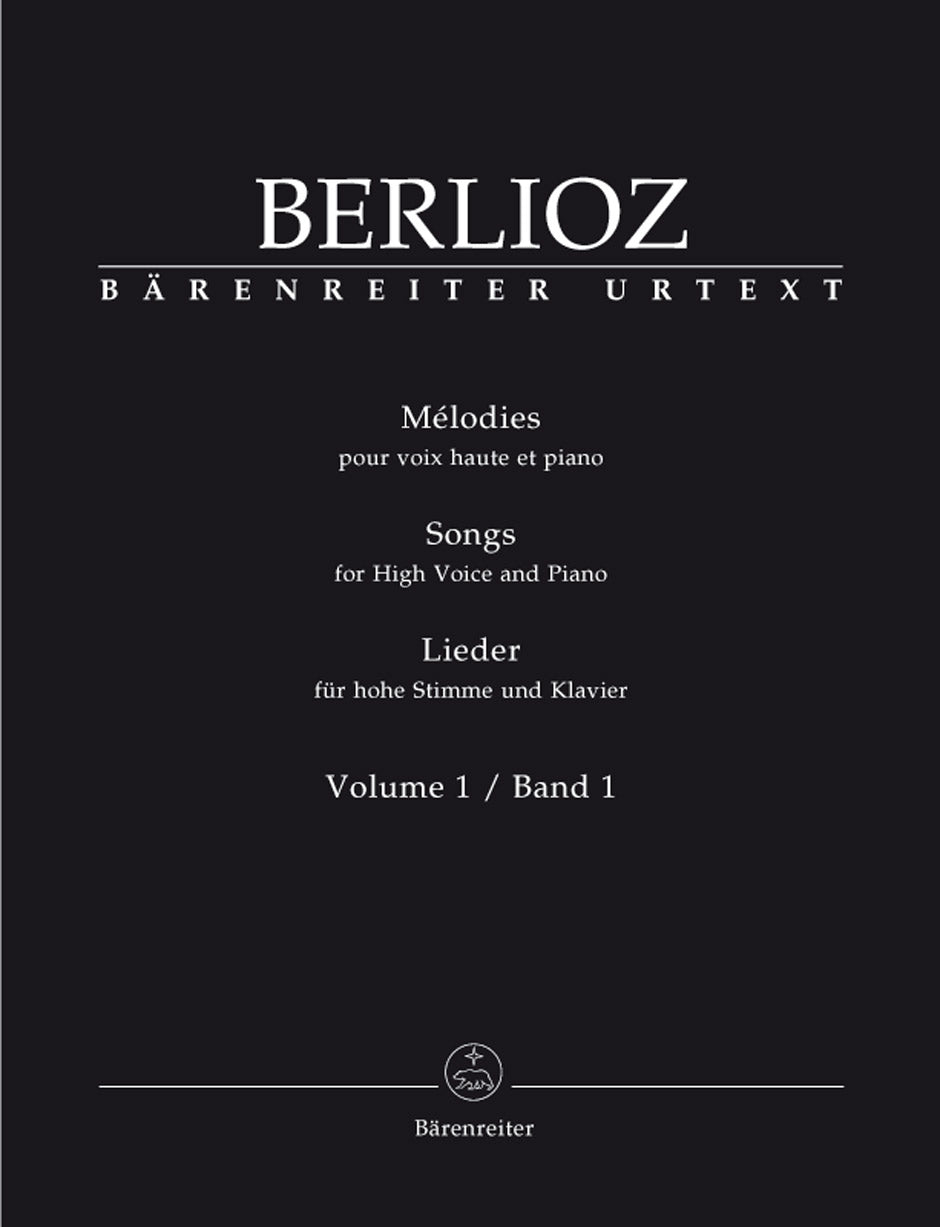 Berlioz: Mélodies (Songs) for High Voice and Piano